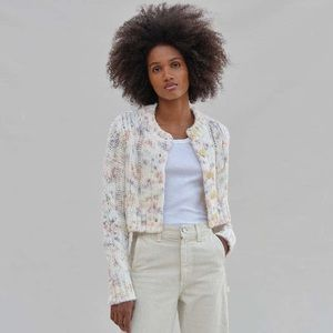 UO Cameron Cable Knit Cropped Cardigan NWT urban
